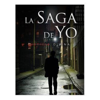 """Portada de """"Justicia Divina"""" por Joel Puga Postcard"""