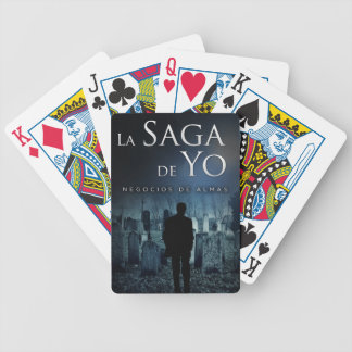 "Portada de ""Negocios de Almas"" por Joel Puga Bicycle Playing Cards"