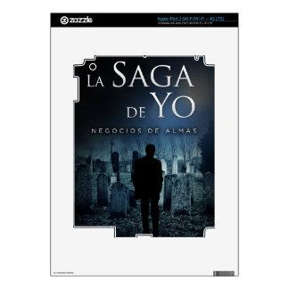 """Portada de """"Negocios de Almas"""" por Joel Puga iPad 3 Skins"""