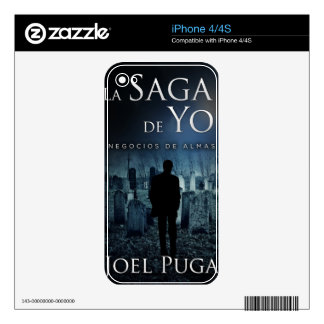 "Portada de ""Negocios de Almas"" por Joel Puga iPhone 4S Skin"