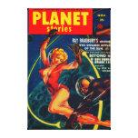 Portada de revista 2 de las historias del planeta impresión en lona