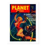Portada de revista 2 de las historias del planeta postales
