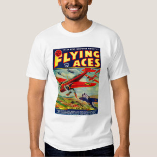 Portada de revista 3 de los as de vuelo camisas