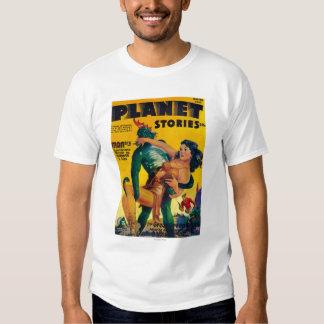 Portada de revista 4 de las historias del planeta camisas