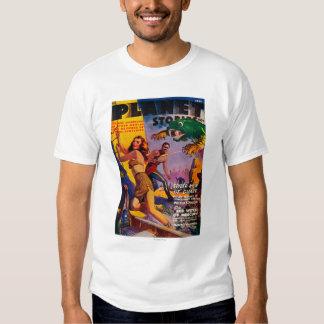 Portada de revista 5 de las historias del planeta camisas