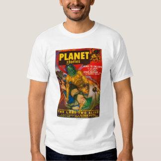 Portada de revista 6 de las historias del planeta poleras