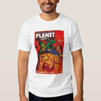 Portada de revista 7 de las historias del planeta playeras