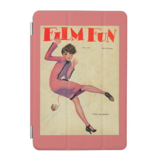 Portada de revista de la diversión de la película cover de iPad mini