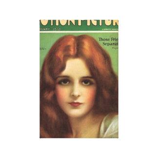 Portada de revista de la película de Mary Astor Impresiones De Lienzo