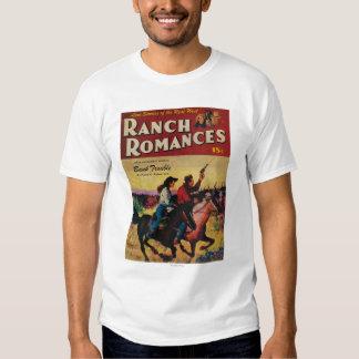Portada de revista de los romances del rancho poleras