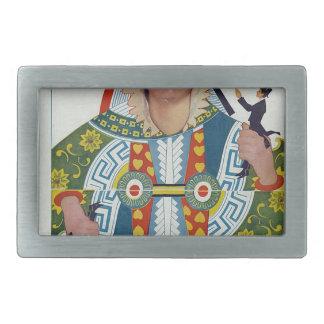 portada de revista del duende malicioso hebilla de cinturon rectangular
