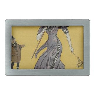 portada de revista del duende malicioso hebilla cinturon rectangular