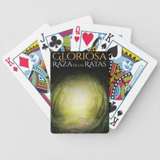 """Portada del libro """"La Gloriosa Raza de las Ratas"""" Bicycle Playing Cards"""