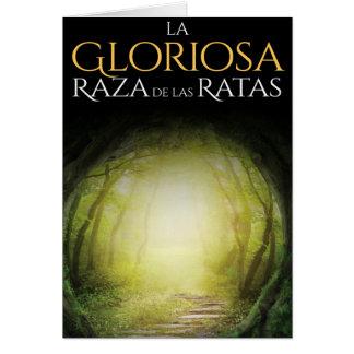 """Portada del libro """"La Gloriosa Raza de las Ratas"""" Card"""