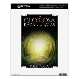 """Portada del libro """"La Gloriosa Raza de las Ratas"""" Decals For The NOOK"""