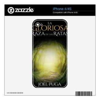 """Portada del libro """"La Gloriosa Raza de las Ratas"""" iPhone 4S Decal"""