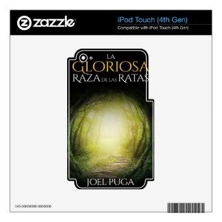 """Portada del libro """"La Gloriosa Raza de las Ratas"""" iPod Touch 4G Decal"""