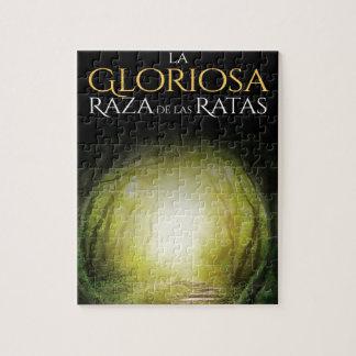 """Portada del libro """"La Gloriosa Raza de las Ratas"""" Jigsaw Puzzle"""