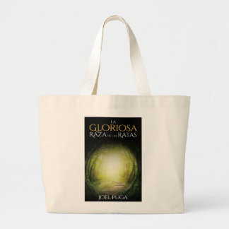 """Portada del libro """"La Gloriosa Raza de las Ratas"""" Large Tote Bag"""