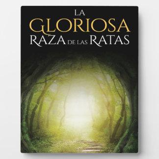 """Portada del libro """"La Gloriosa Raza de las Ratas"""" Plaque"""