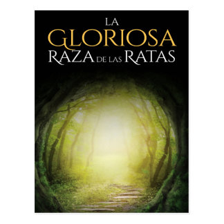 """Portada del libro """"La Gloriosa Raza de las Ratas"""" Postcard"""