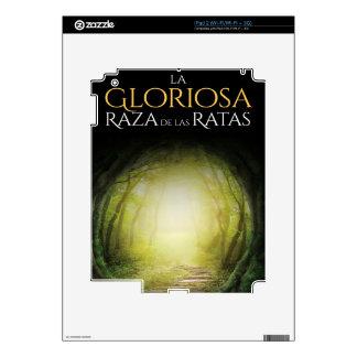 """Portada del libro """"La Gloriosa Raza de las Ratas"""" Skin For The iPad 2"""
