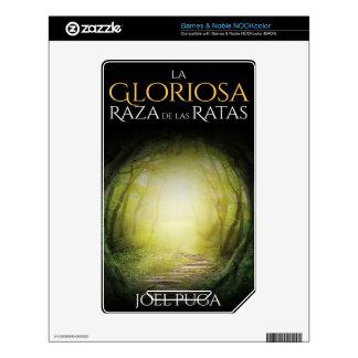 """Portada del libro """"La Gloriosa Raza de las Ratas"""" Skins For NOOK Color"""