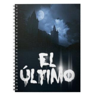 """Portada del libro por Joel Puga del """"EL Último"""" Libros De Apuntes"""