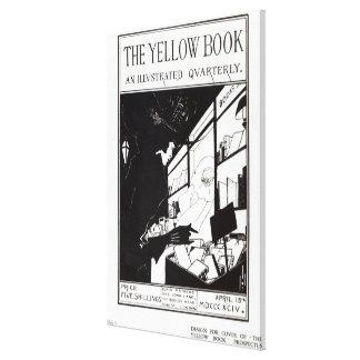 Portada del prospecto para 'el libro amarillo impresión en lienzo