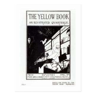 Portada del prospecto para 'el libro amarillo postales
