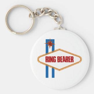 Portador de anillo de Las Vegas Llavero Personalizado