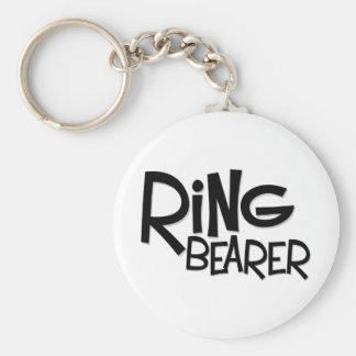 Portador de anillo del inconformista llavero