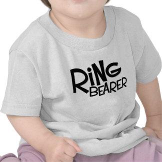 Portador de anillo del inconformista camiseta