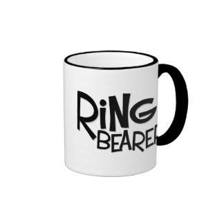 Portador de anillo del inconformista taza de café