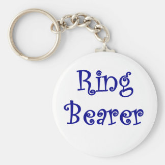 Portador de anillo llavero