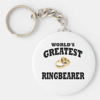Portador de anillo llavero redondo tipo pin