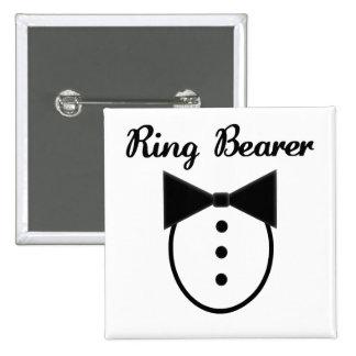 Portador de anillo pin cuadrado