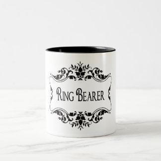 Portador de anillo tazas de café