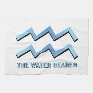 Portador del agua toalla de cocina