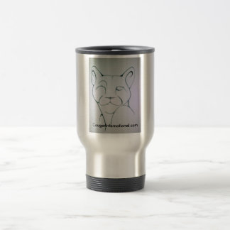 Portador oficial la termal del logotipo del ci tazas de café