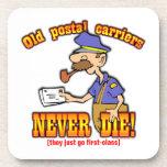Portador postal posavasos de bebida