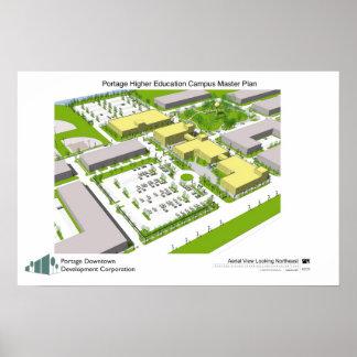 Portage Campus Plan Poster
