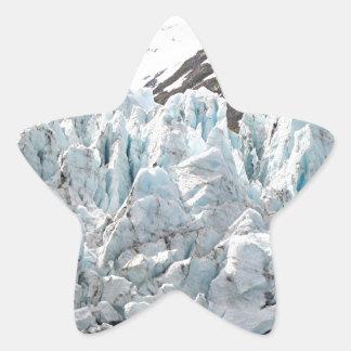 Portage Glacier, Alaska, USA Star Stickers