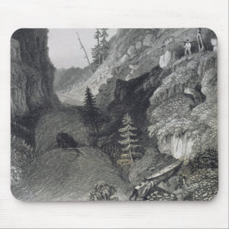 Portage in Hoarfrost River, August 19th, 1833, fro Mouse Pad
