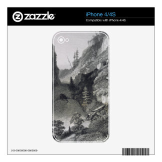 Portage in Hoarfrost River, August 19th, 1833, fro iPhone 4 Skin