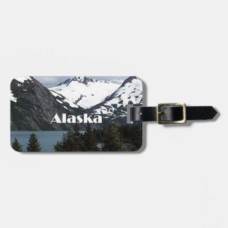 Portage Lake and mountains, Alaska, USA Luggage Tag