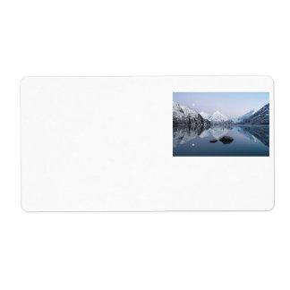Portage Lake Twilight Label