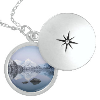 Portage Lake Twilight Sterling Silver Necklace