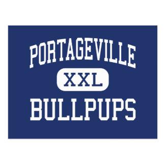 Portageville Bullpups Middle Portageville Postcard