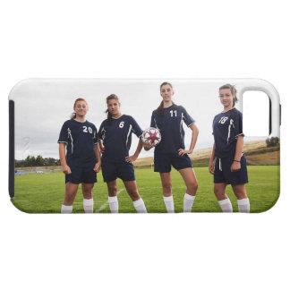 portait del grupo de los jugadores de fútbol funda para iPhone SE/5/5s